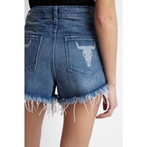 💕Show Me Your Mumu💕 Bullhead High Waisted Shorts